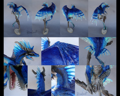 Companion Large collossal blue dragon