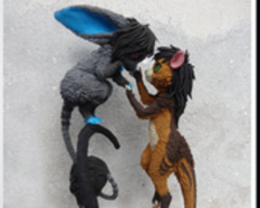 Companion Standard companion furry sculpture commission lovers