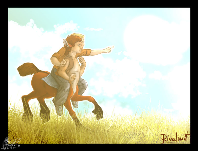 centaur digital drawing horse boy digital Digital Drawings Centaur and a boy Digital Drawings