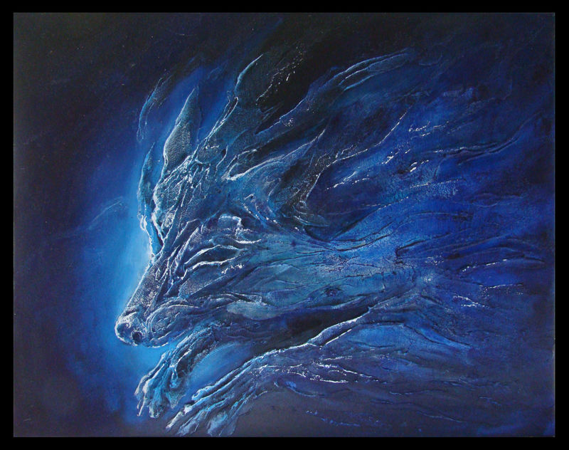 3d painting painting wolf spirit Paintings Wolf Spirit Paintings