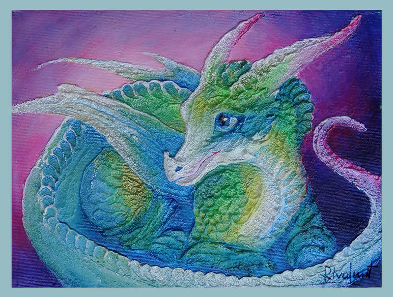 eurofurence 3d painting dragon Paintings Innocence Paintings