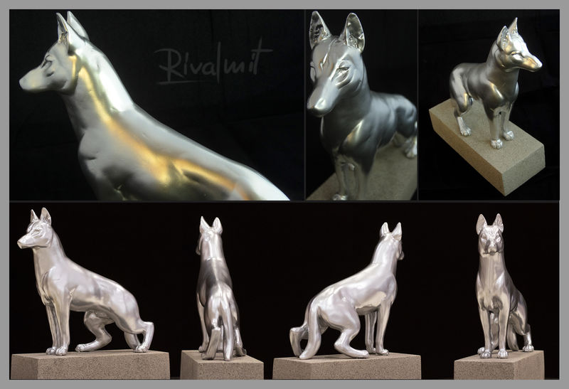 dog sculpture trophy Sculptures Trophy of Heroes Sculptures