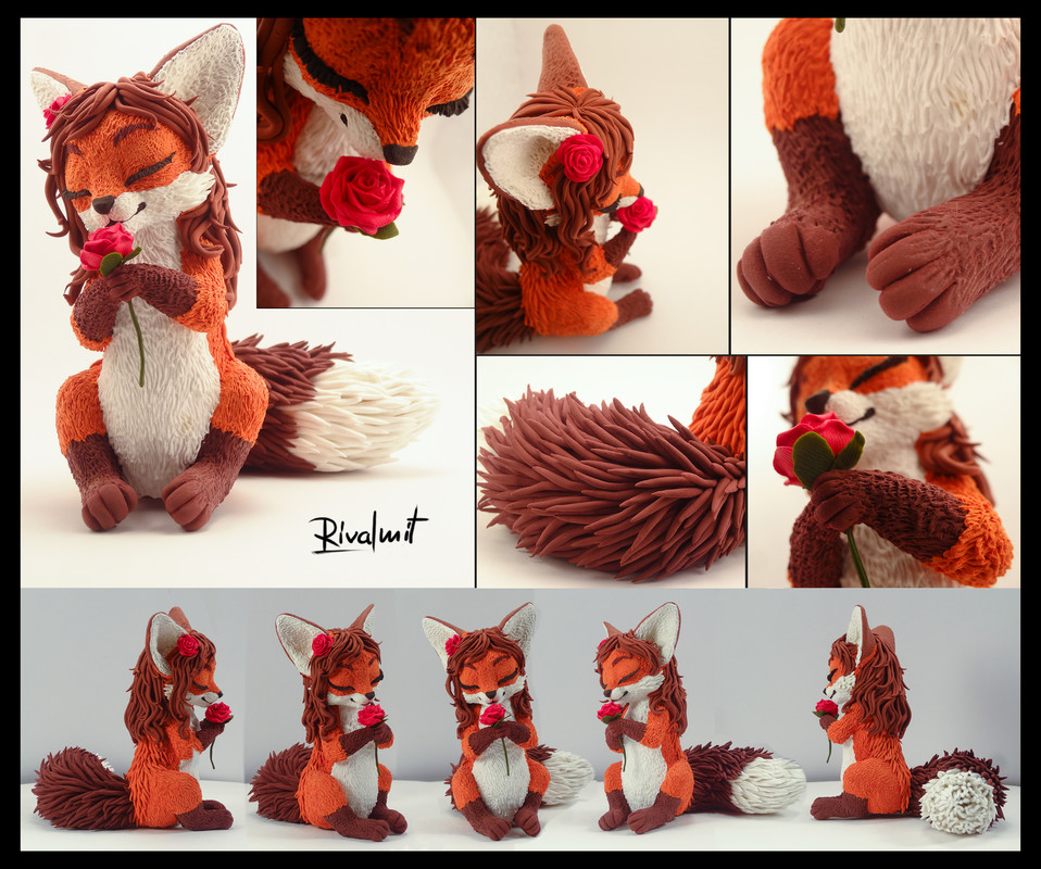 sculpture fox Raffle Phoenixgg