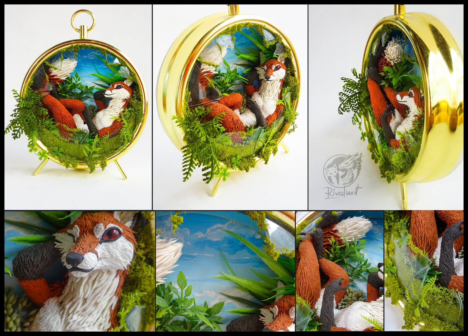 sculpture fox ef24 The fox, the looking glass and no wardrobe