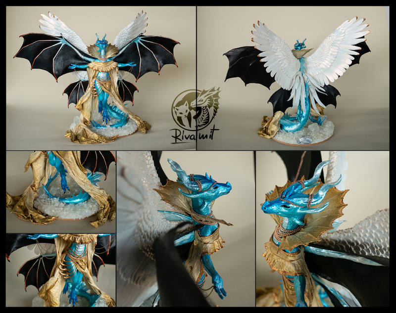 sculpture dragon god dragoness art traditional Sculptures ascent to divinity Sculptures