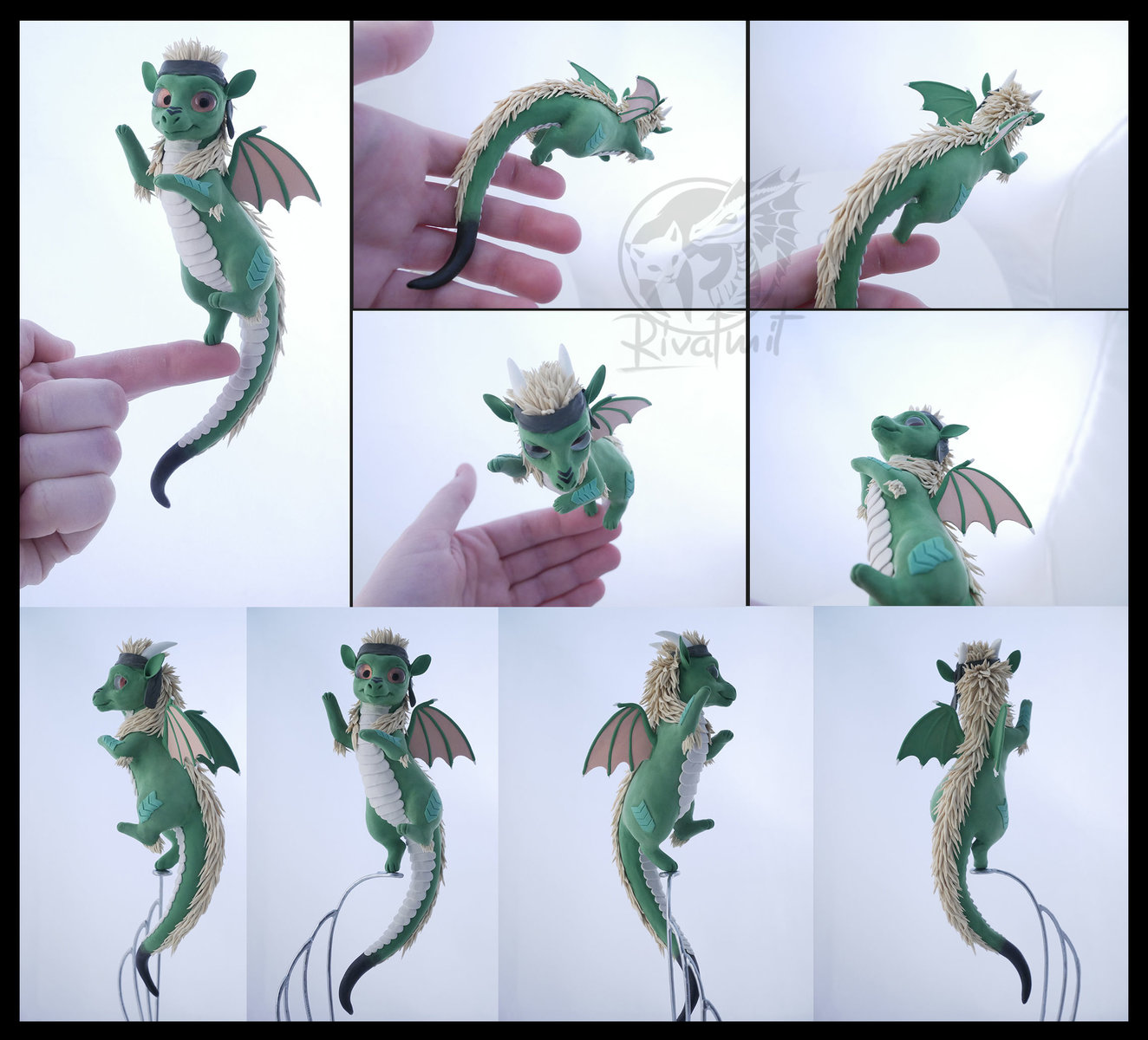 sculpture dragon companion balance reederda
