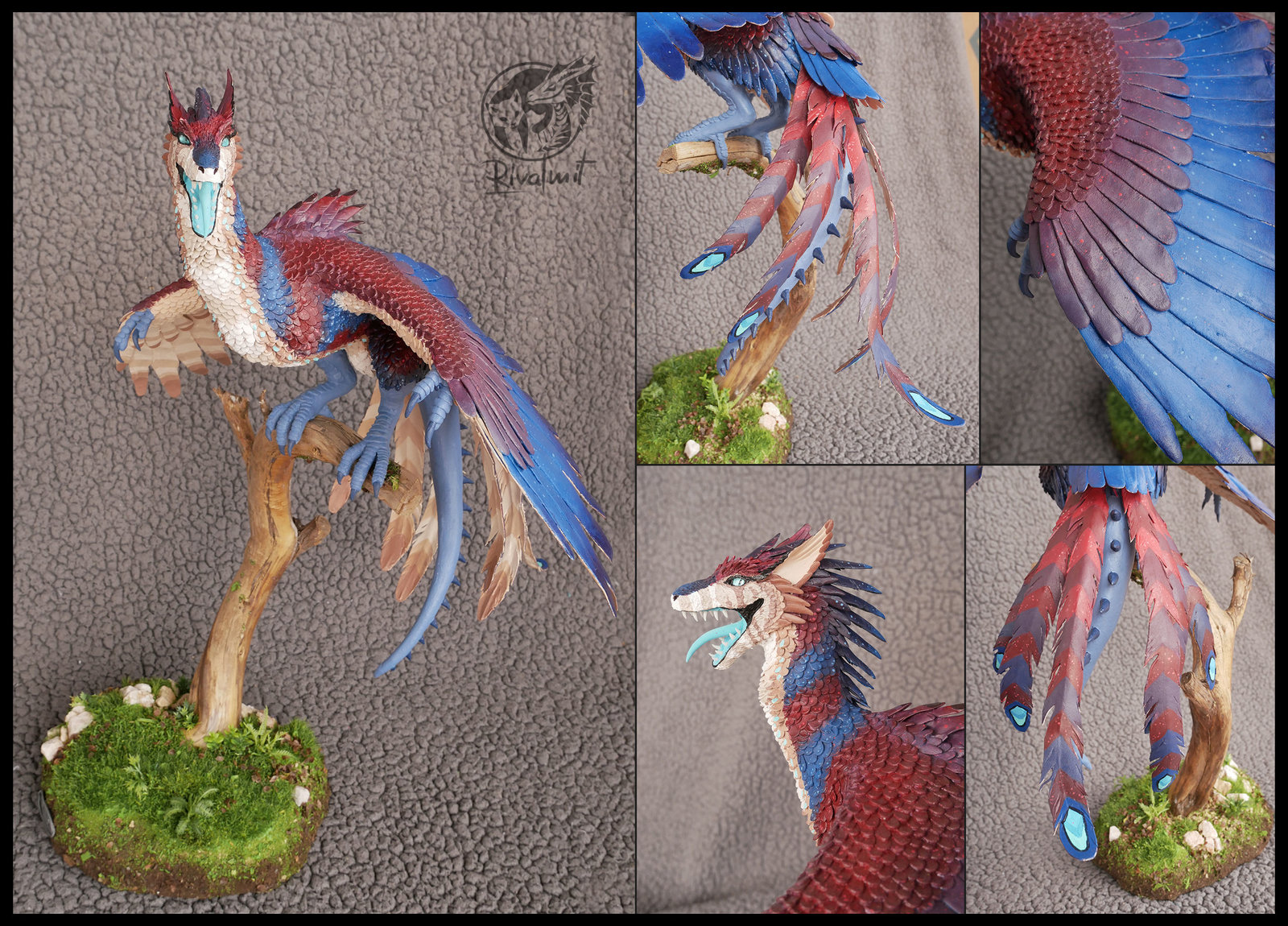 sculpture dragon traditional bird Terror of the Night