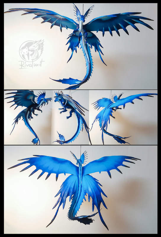 sculpture dragon Sculptures Blue Drgon Sculptures