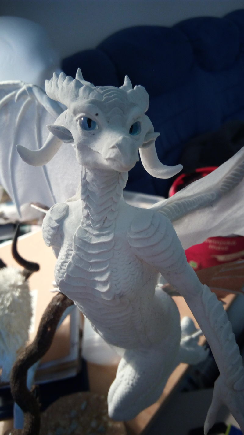 sculpture commission artwork companion drgoness dragon furry anthropomorphic eurofurence 23 balanced female Now she had the eyes to gaze in to your soul