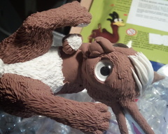 sculpture commission artwork bunny furry traditional art