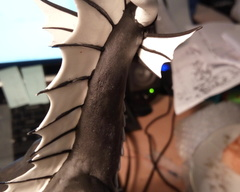 sculpture commission artwork dragon wyvern companion