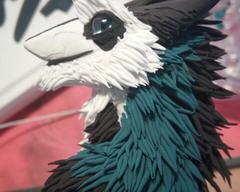 sculpture commission artwork furry sergal antro
