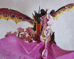 sculpture artwork dragon wedding twin