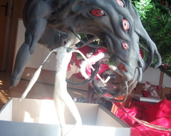 sculpture commission artwork demon man magic myth