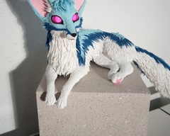 sculpture commission artwork fox furry furry