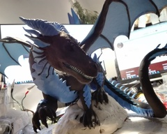 sculpture commission artwork dragon
